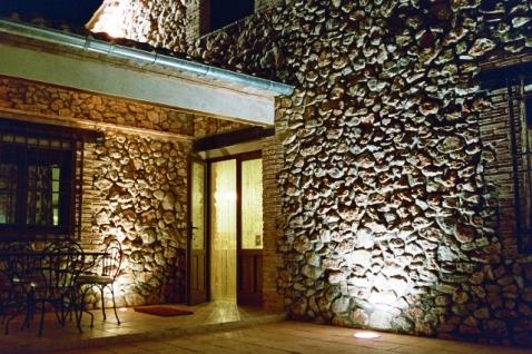 Casa del Río. Patio