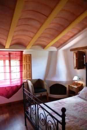 Dormitorio chimenea