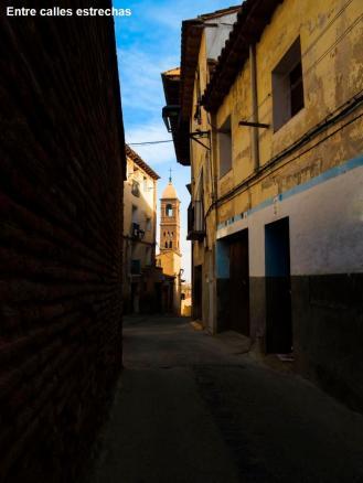 entre calles estrechas
