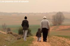 Los paseos con el abuelo