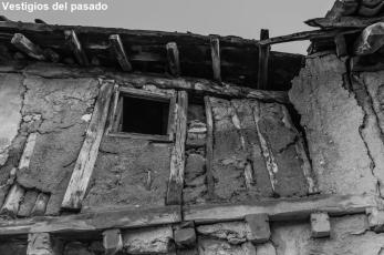 Adobe house in ruins