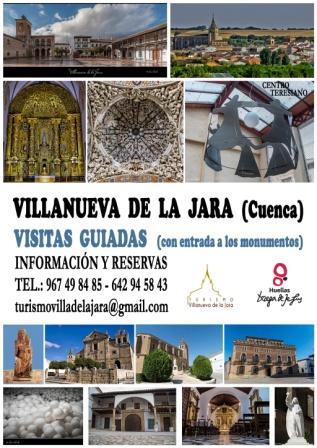 Visitas guiadas Villanueva de la Jara No te pierdas esta interesante visita guiada. Lugar de Teresa de Jesús